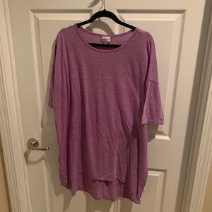 Purple LuLaRoe Irma -Like New!